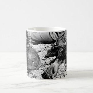 How a man died on the way _War Image Coffee Mug