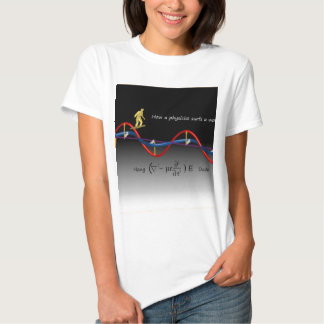 How a Physicist surfs T Shirt