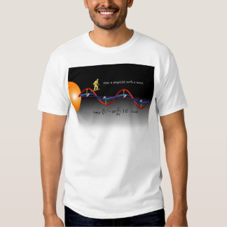 How a Physicist surfs T-shirt