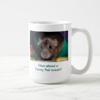 How About a Fancy Rat Break? Coffee Mug