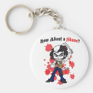 How about a shave? keychain