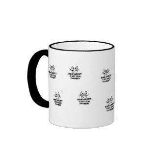 How About I Eat You?! Ringer Coffee Mug