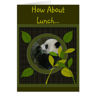 How About Lunch... Invitation