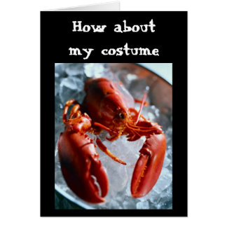 HOW ABOUT  MY COSTUME=HALLOWEEN CARD