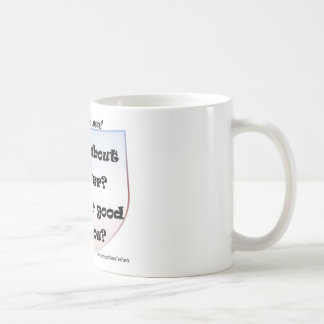 How About Never? Is Never Good For You? Coffee Mug