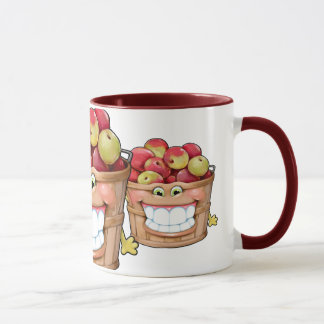 How about them apples?!  Happy Apples! Mug