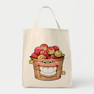 How about them apples?!  Happy Apples! Tote Bag