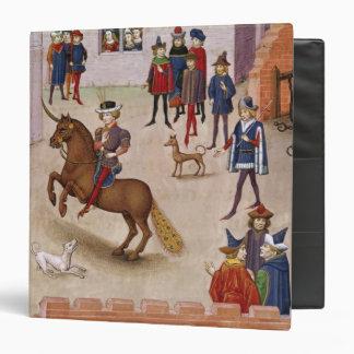 How Alexander the Great Mounted Bucephalus Vinyl Binder