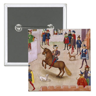 How Alexander the Great  Mounted Bucephalus Pinback Button