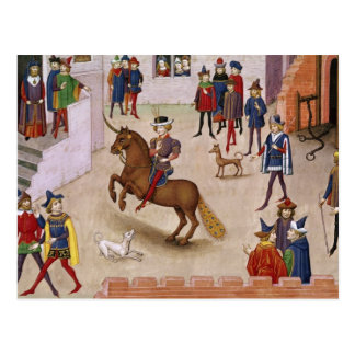 How Alexander the Great  Mounted Bucephalus Postcard