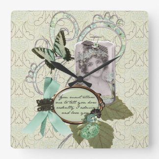 How Ardently I Love You! Wall Clock