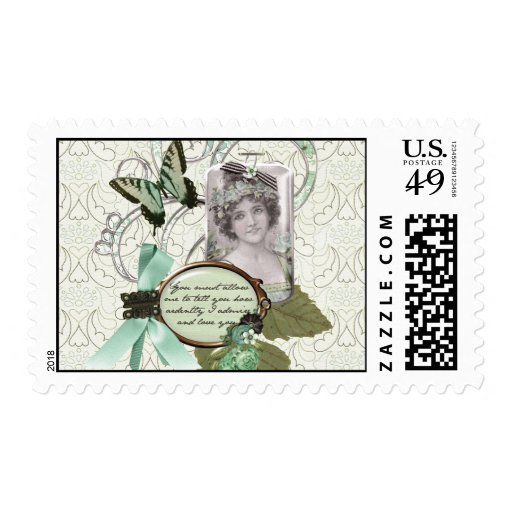 How Ardently I Love You! Stamp