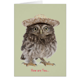 How are you card, Greeting Card, keeping in touch Stationery Note Card