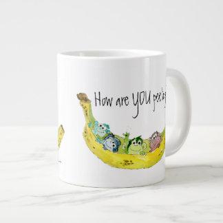 How Are You Peeling Banana Monkeys Cartoon Mug