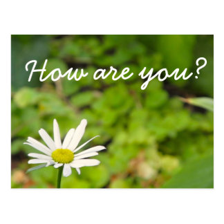 How Are You Postcard