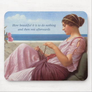 How beautiful CC0154 Mouse Pad