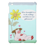 How Beautiful It Is To Do Nothing iPad Mini Case