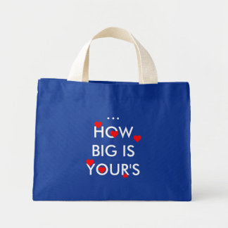 HOW BIG IS YOUR'S TOTE BAGS