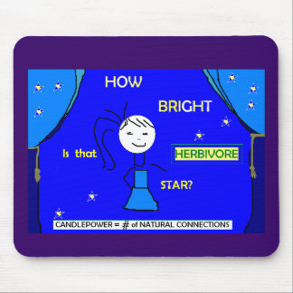How bright is that star? Mousepad