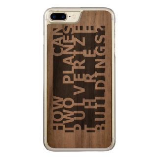 How can... 9/11 carved iPhone 8 plus/7 plus case