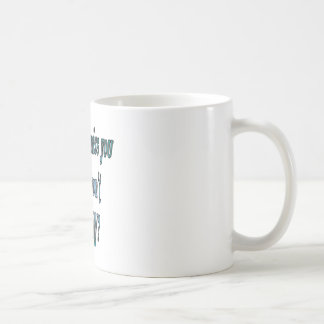 How can I miss you if you wont go away transparent Coffee Mug