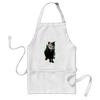 How Cats Do Halloween Adult Apron