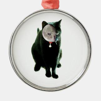 How Cats Do Halloween Metal Ornament