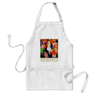 HOW DID I END UP IN THIS CRAZY PLACE? ADULT APRON