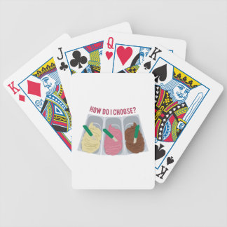 How Do I Choose? Bicycle Playing Cards
