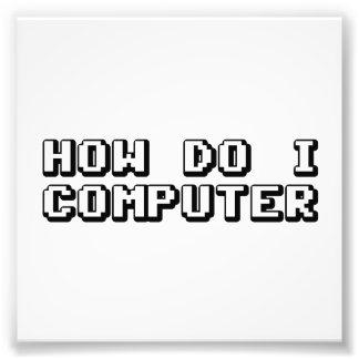 How Do I Computer Photo Print