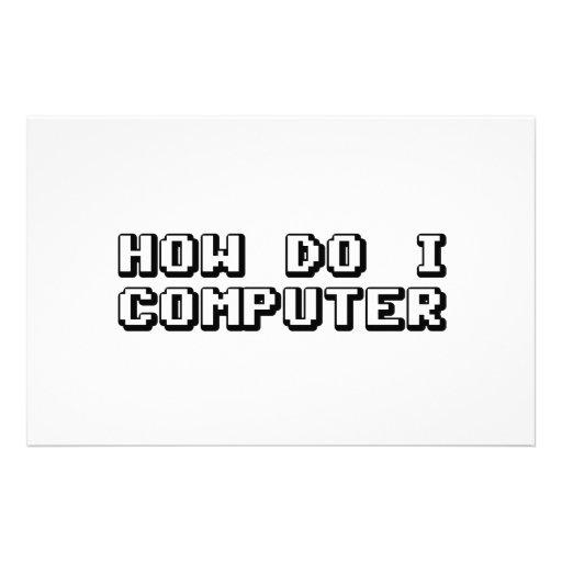 How Do I Computer Customized Stationery