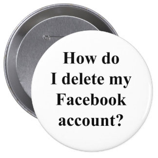How do I delete my Facebook account? Pins