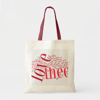 How Do I Love Thee? tote bag