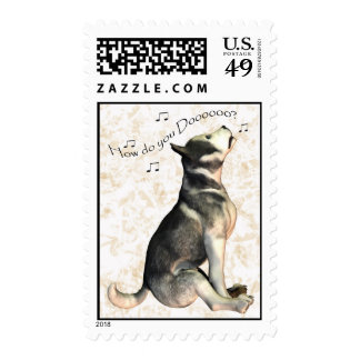 How Do You Do? Hello, Hi there, Hi, Missing you Postage Stamp