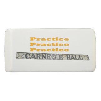 How Do You Get To Carnegie Hall Eraser
