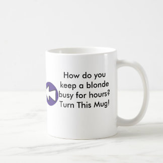 How do you keep a blonde busy for hours? coffee mugs