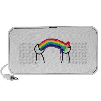 How do you know you're gay - rainbows portable speaker