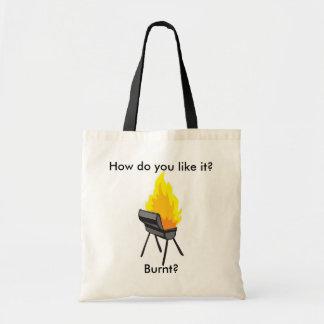 How do you like it? tote bag