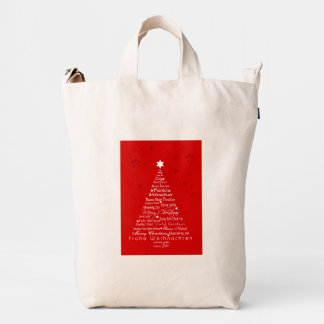 How do you say Merry Christmas? There are many way Duck Bag