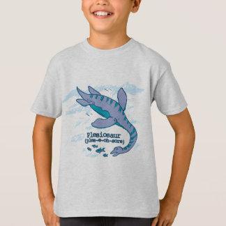 How do you say Plesiosaur kids dinosaur t-shirt