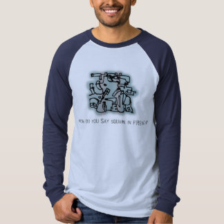 How Do You Say Square In French? T Shirt