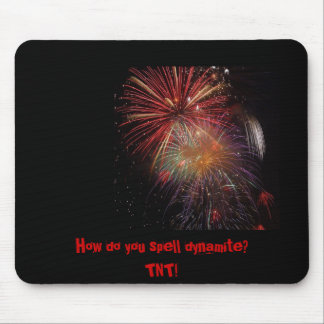 How do you spell dynam... mouse pad