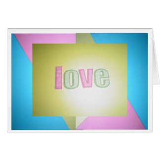 How Do You Spell Love Card