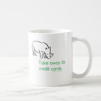 How do you stop a Rhino from Charging? Coffee Mug