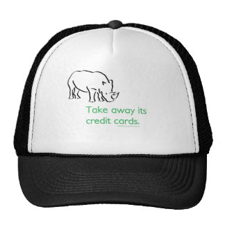 How do you stop a Rhino from Charging? Trucker Hat