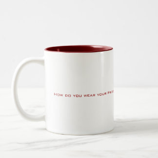 How do you wear your Pride? Two-Tone Coffee Mug