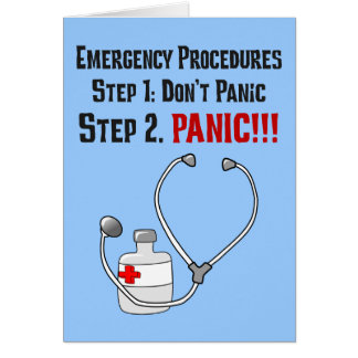 How Doctors Respond to Your Emergency Cards