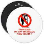 How does my marriage ruin yours button