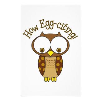 How Egg Citing Stationery