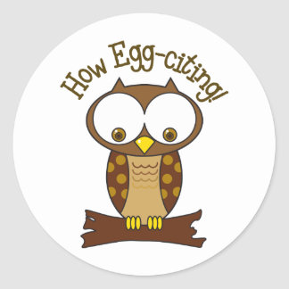 How Egg-citing Sticker